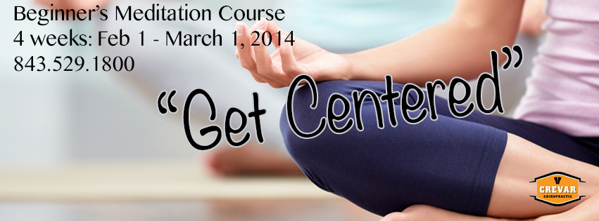 """Get Centered"" Meditation Course for Beginners"